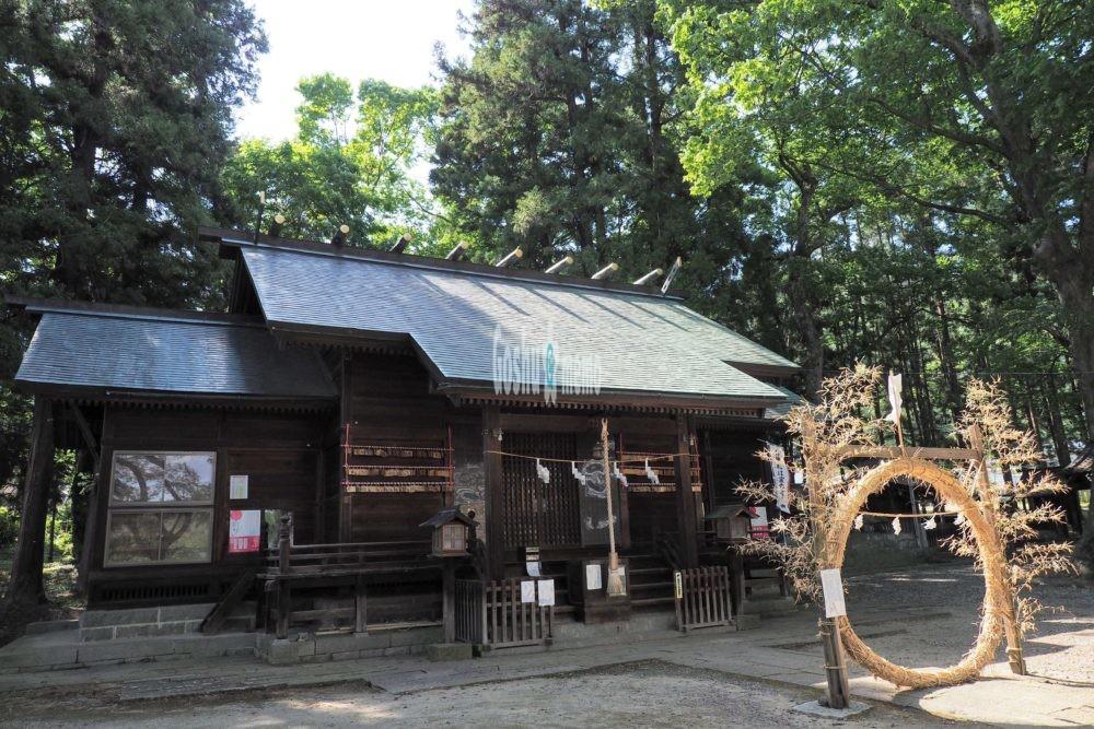 千曲市治田神社の御朱印